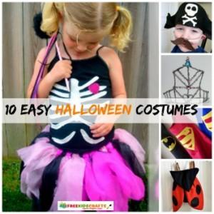 10 Easy Halloween Costumes