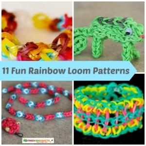 11 Fun Rainbow Loom Patterns
