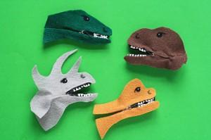 Adorable Clothespin Dinosaurs