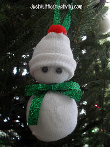 Itty Bitty Snowman Ornament