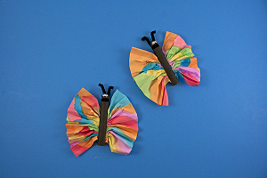 Majestic Clothespin Butterflies