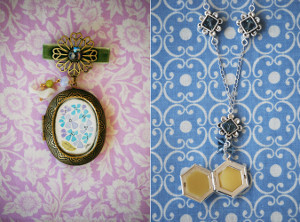 How to Make a Locket for the Bridesmaids
