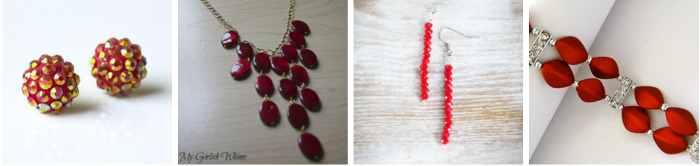 DIY Jewelry Must Makes: Radiating Red