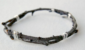 Divine DIY Jewelry: Tree Branch Bangles