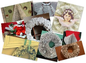 14 Book Craft Ideas for Christmas