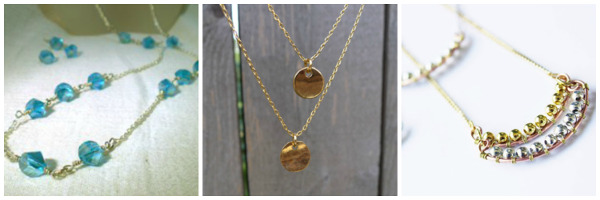 Delicate DIY Jewelry Projects: Necklaces