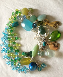 DIY Jewelry Project: 50 Shades of Beads Bracelet