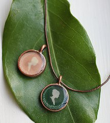 DIY Jewelry Project: DIY Resin Cameo Necklace