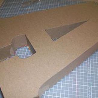 Cardboard Letter