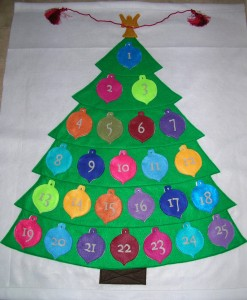 Cute Felt Advent Calendar