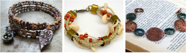 Thanksgiving DIY Jewelry Projects: Bracelet