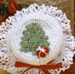Christmas Jar Topper