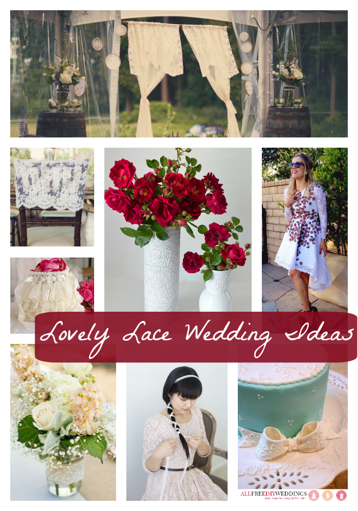Lovely Lace Wedding Ideas collection