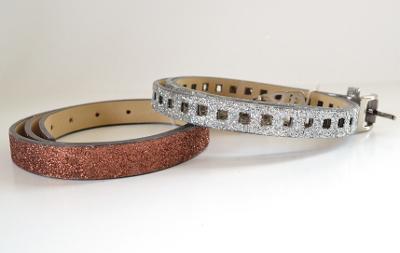 Christmas Glitter Belt