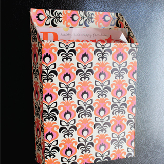 how to make a paper storage box