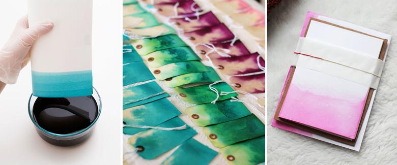 Dye Collage