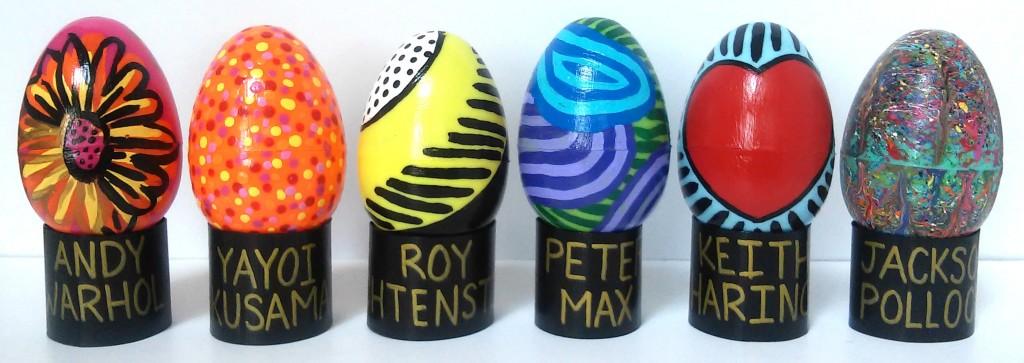 Contemporary Art Easter Eggs 2