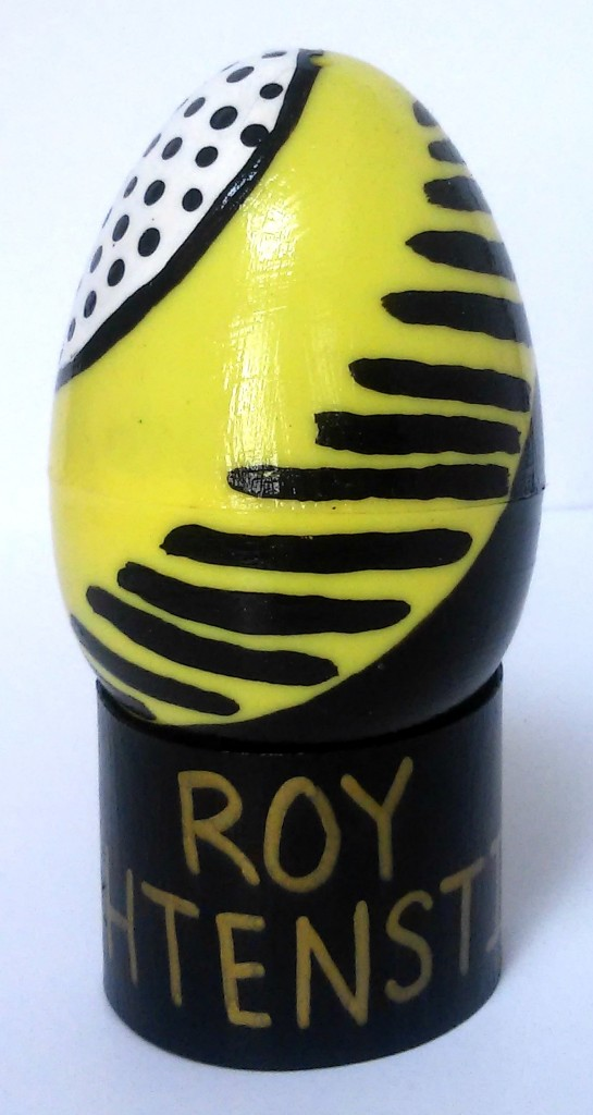 Contemporary Art Easter Eggs ROY LICHTENSTEIN