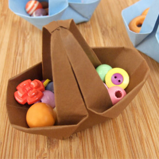 Easter Origami Basket