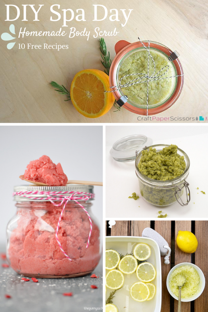 DIY-Spa-Day-homemade-body-scrub