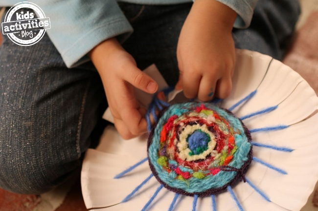 Coaster Homemade Gift Kit via Kids Activities Blog