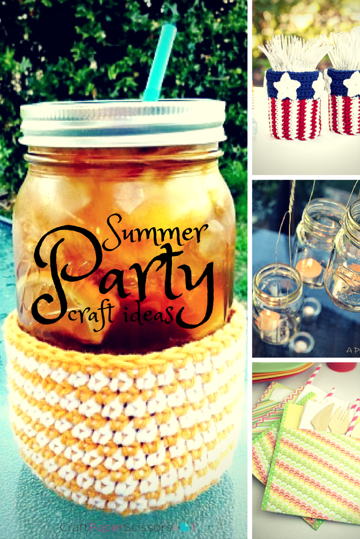 Summer Party Ideas 20 Simple Diy Party Decorations More