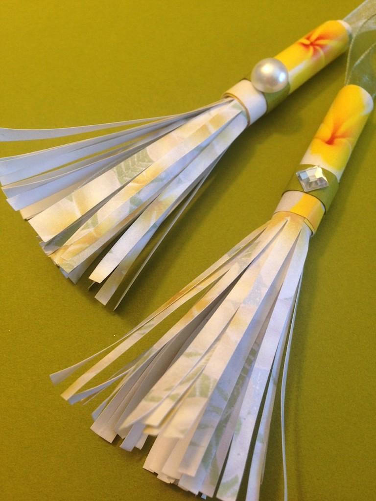 how to make paper tassel lisa fulmer