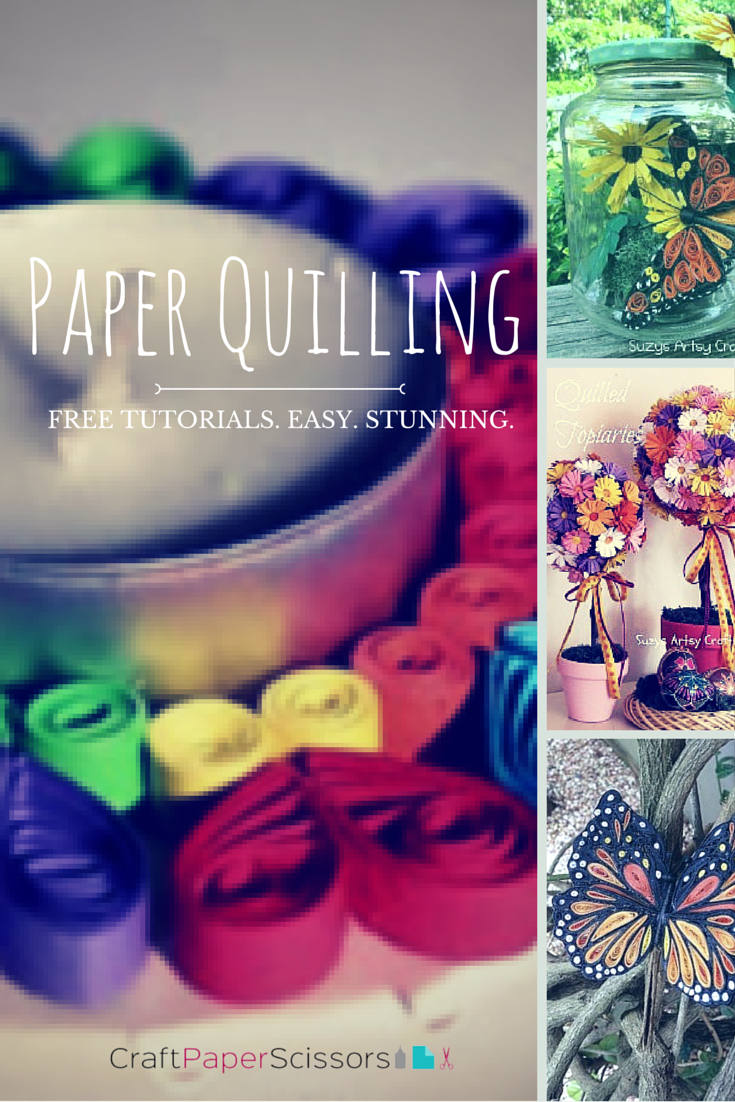 10 Amazingly Beautiful Paper Quilling Tutorials You Must See