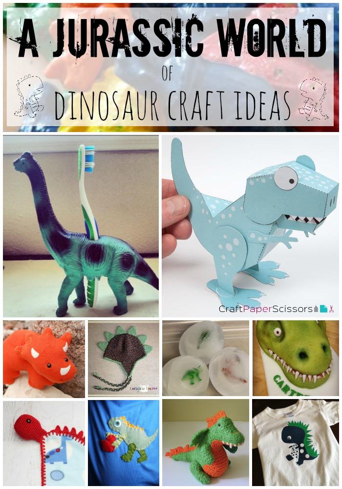 49b1e3f9aaaefa Summer Blockbusters  A Jurassic World of Dinosaur Crafts - Craft ...