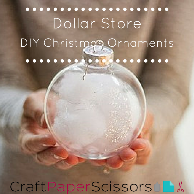 Christmas Ornaments Affordable at Dollar Store