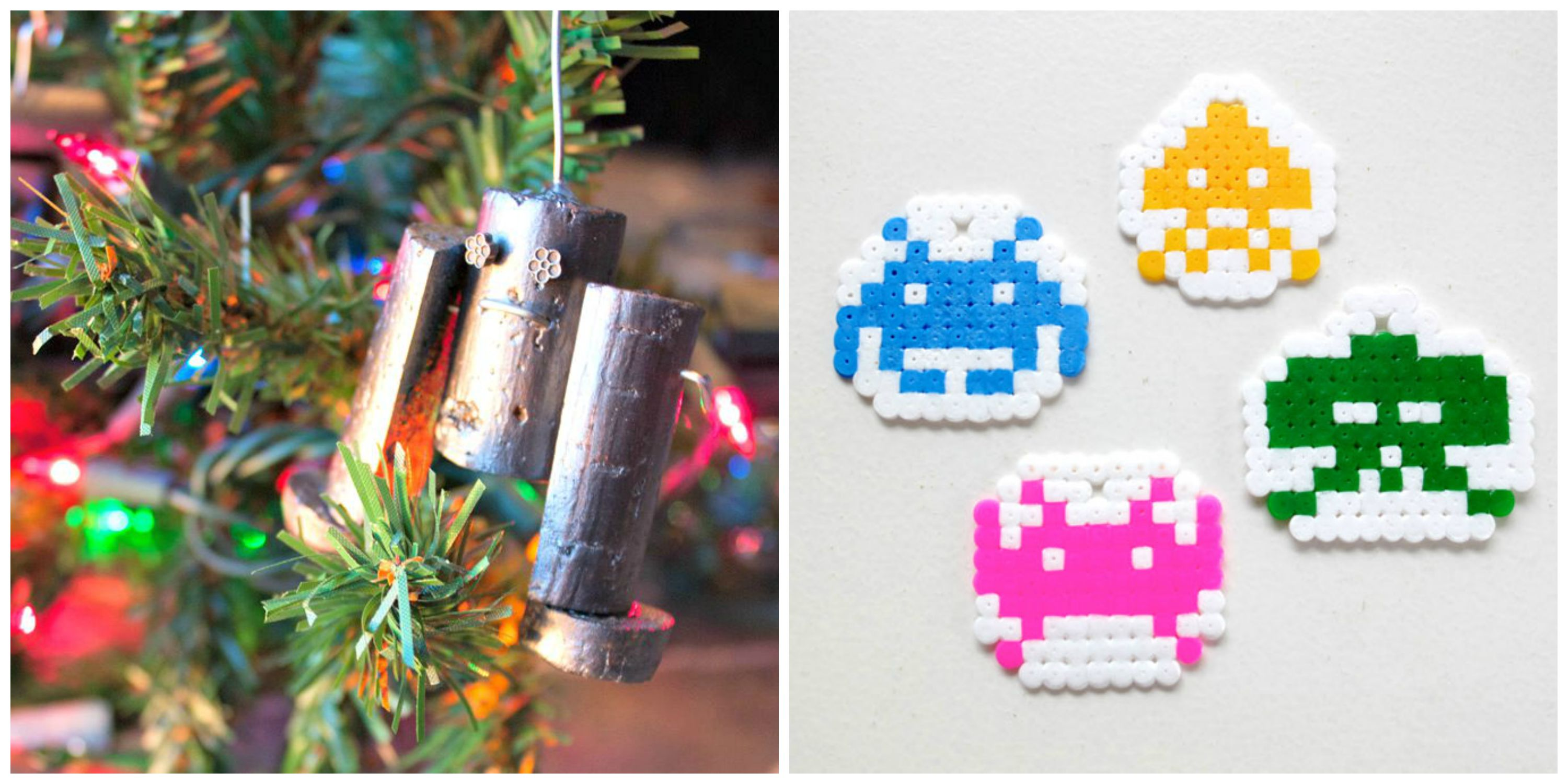 Nerdy DIY Christmas Ornaments - Craft Paper Scissors