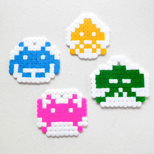 Space Invaders Christmas Ornaments