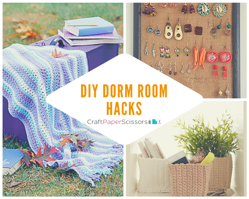 Dorm Room Hacks 14 DIY Dorm Room Ideas ~ 062515_Diy Dorm Room Storage Ideas