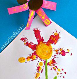 Lovely Flower Stamp Art