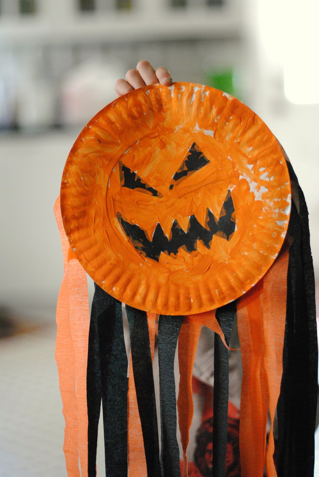Jack O' Lantern Wind Catcher