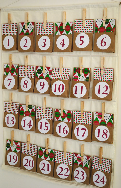 10 homemade advent calendar crafts for christmas family. Black Bedroom Furniture Sets. Home Design Ideas