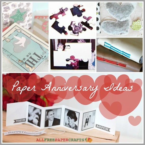 5 Paper Anniversary Ideas Craft Paper Scissors