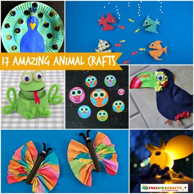We Re Obsessed 17 Amazing Animal Crafts Craft Paper Scissors