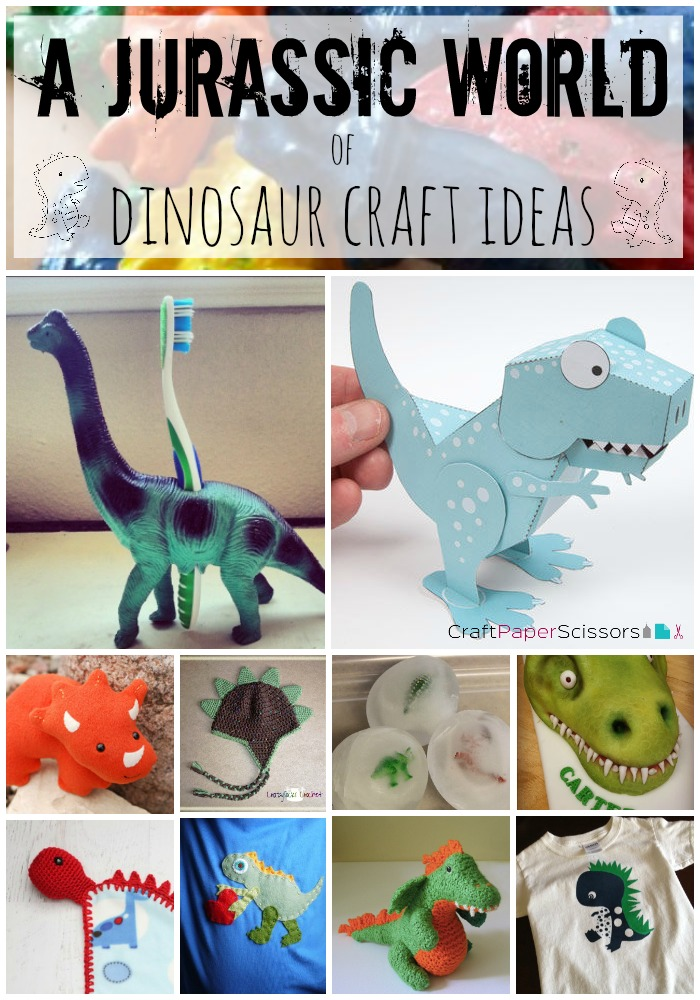49b1e3f9aaaefa Summer Blockbusters  A Jurassic World of Dinosaur Crafts - Craft ...